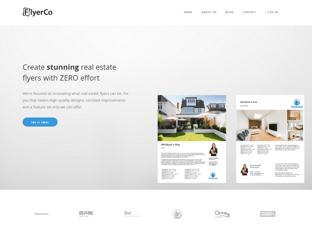 real estate flyer templates  the best free  u0026 paid list
