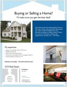 Vista Print Real Estate Flyer Template