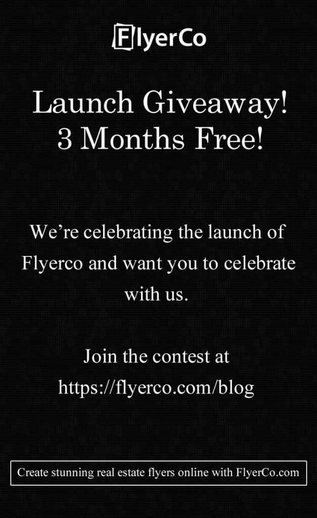FlyerCo Giveaway