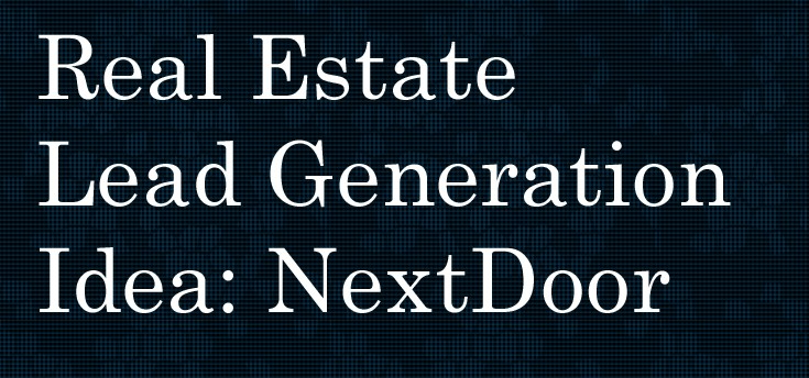 real estate lead gen