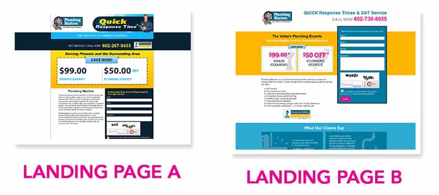 landing page case study