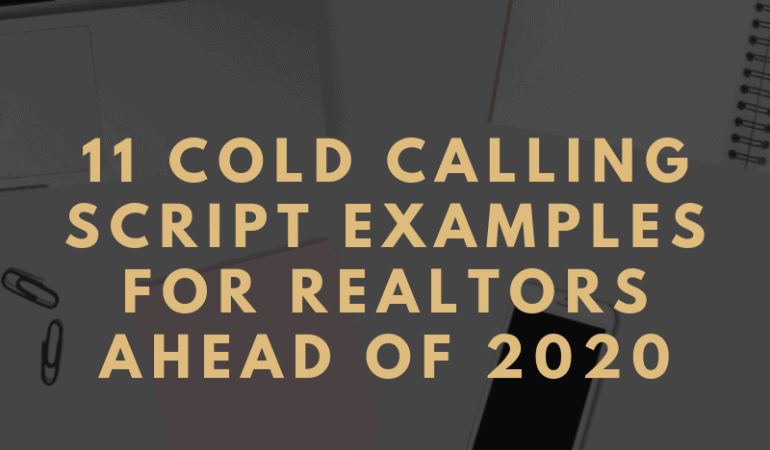 real estate cold calling scripts