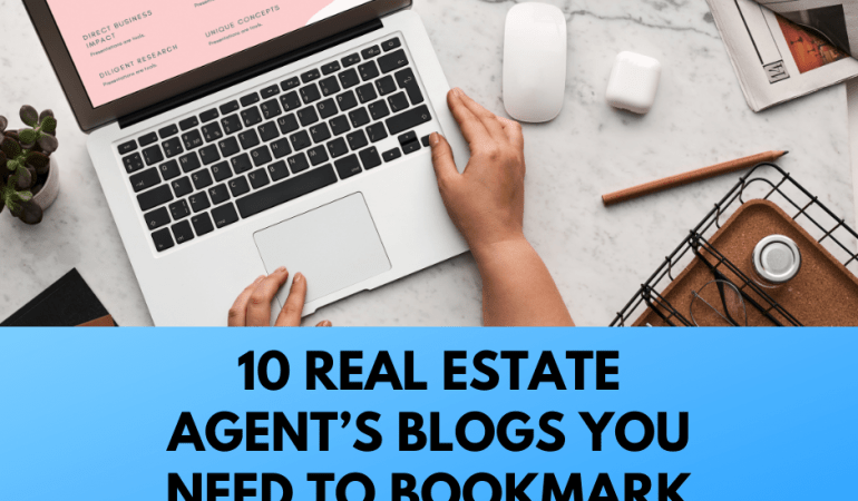 real estate agents blogs