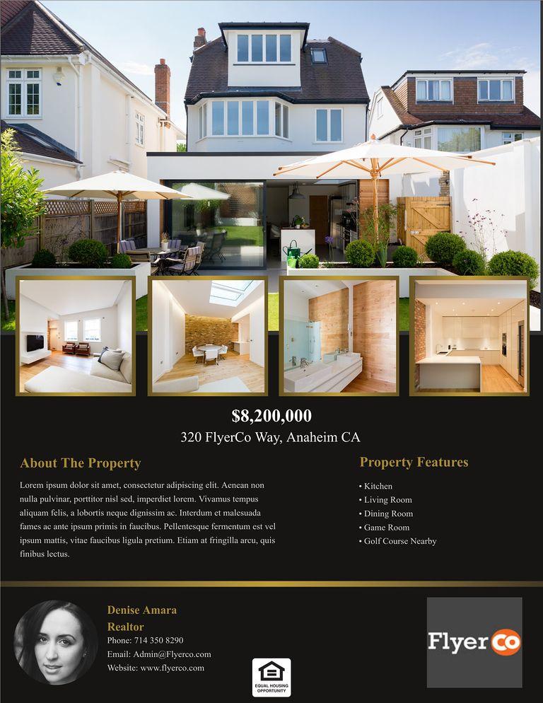 real estate listing flyers real estate marketing blog